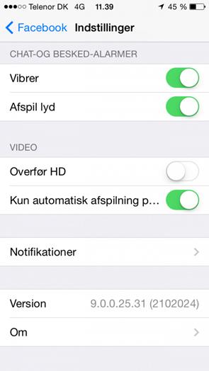 iphone video tab